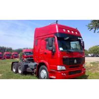 Sinotruk Howo 6x4 371hp Prime Mover Tractor Truck With Two Sleepers WD615.47 Engine Manufactures