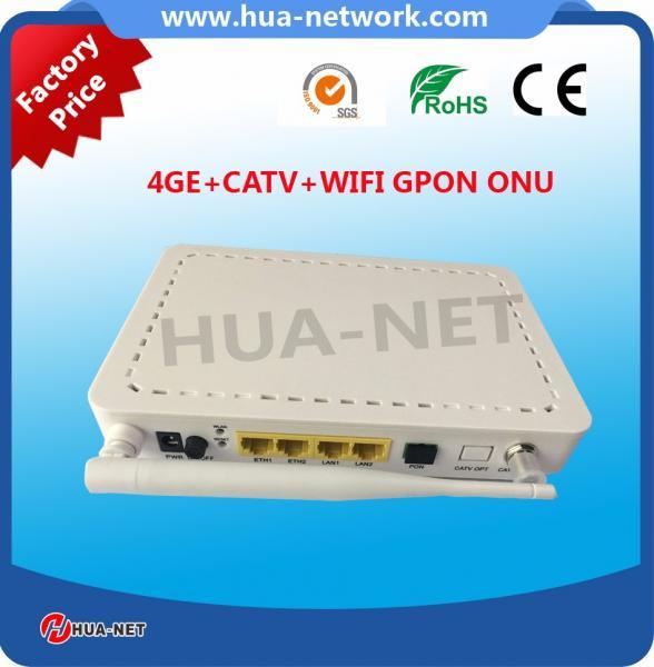 4GE+CATV+WIFI GPON ONU-3