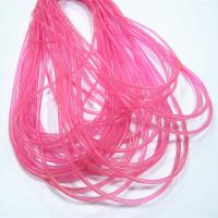 flexible and wear resistant transparent pvc rope for packing rope Manufactures