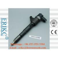 China ERIKC 0445110386 Auto Fuel Injectors 0 445 110 386 diesel Engine Injection 0445 110 386 for Audi on sale