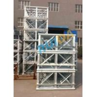 Red Painted Double Cage Man And Material Hoist 1600kg , Building Materials Lift Manufactures