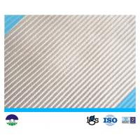 White Multifilament Woven Geotextile 200kN Manufactures