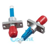 China Compact ST To LC Adapter , Fiber Optic Cable Adapter With Rectangular Flange on sale