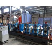 China 8 Inch Pipe Tube Mill Ss Pipe Manufacturing Machine Automatic Guidance on sale