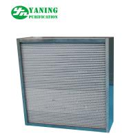 China 304 Stainless Steel HEPA Air Filter / High Temp HEPA Furnace Filter For Oven on sale