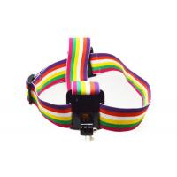Colorful Action Camera Head Strap Adjustable with Anti-Slide Glue Manufactures