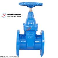 BS5163 pn16 water resilient seat cast iron ductile iron gate valve Manufactures