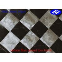 Ultra Thin Carbon Fiber Fabric 12K T800 Wide 37GSM Carbon Fiber Spread Tow Fabric Manufactures