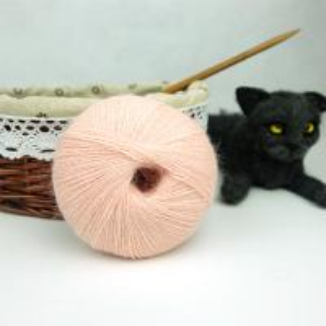 China Hot sale warm soft like baby skin touching ligher 70%angora silk blend fancy yarn on sale