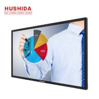 China 400 Nits Brightness Portable Interactive Whiteboard Capacitive Touch 55 Inch on sale