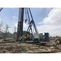 China Eco Bore Pile Machine , Excavator Mounted Pile Driving Equipment on sale