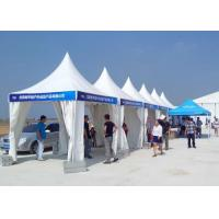 Fashion Pagoda Party Tent 4m X 4m PVC Flame Retardant For Wedding / Event Manufactures