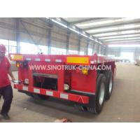40 Feet Container Carrying Flat Bed Heavy Duty Semi Trailers 3 Axles 30-60 Tons 13m Manufactures