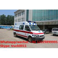 China High quality FORD TRANSIT  longer gasoline emergency ambulance for sale, HOT SALE! Cheapest price FORD ICU ambulance car on sale