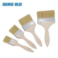 Wood Handle Natural Bristle Paint Brush Epoxy Glue For Decoration Painting Manufactures