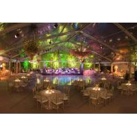 Aluminum Frame Transparent Marquee Tent , Outside Clear Party Tent Unique Decorations Manufactures