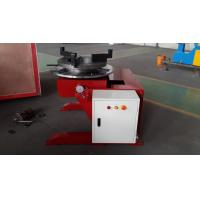 2000mm Welding Table For 10 Ton Rotary Welding Positioners With 5.5kw Tilt Motor Manufactures