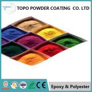 Interior Red Gold Metallic Powder Coat For Metal Radiator Surface Protective