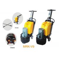 Differ Handle Manual Floor Polisher With Magnetic Chassis / Fast Grinder For Stone Manufactures
