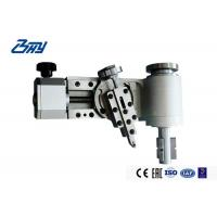 China Small Diameter Flange End Face Pipe Cutter Machine Lightweight Low Clearance on sale
