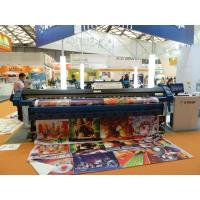 Flex Banner Printing Large Format Solvent Printer High Speed , Dx5 Print Head Manufactures