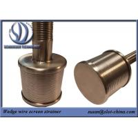 Buy cheap 0.2mm Filtering Slot Size Filter Nozzle from wholesalers