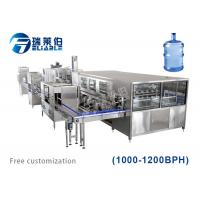 Multi Functional Auxiliary Equipment Water Bottling Equipment 3 - 6 Gallon Manufactures