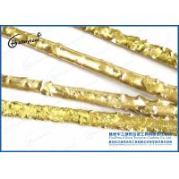 Gold Color YD Type Tungsten Carbide Welding Rod With Nickel - Copper Alloy Manufactures