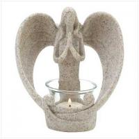 2011 new styles polyresin & glass candle holder Manufactures