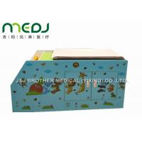 Wood Pediatric Hospital Exam Table With Big Double Door Storage Canbinet Manufactures