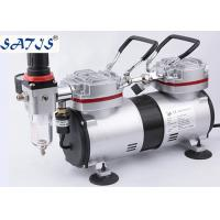 Airbrush And Spray Gun Air Supply Mini Air Compressor 1/4HP Power Piston Type Manufactures