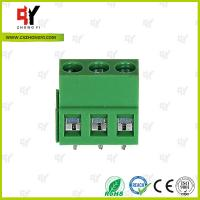 Electrical terminal block Wire Range 26- 14 AWG -40℃ ~ +105℃ Temprature Manufactures