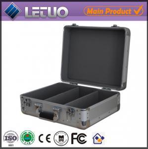 Aluminum china supplier cd case aluminium metal flight case To Fit 100 CD