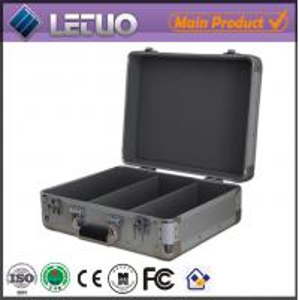 Aluminum china wholesale dvd case lightweight aluminium metal flight case To Fit 100 CD