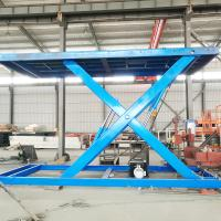 China Tavol Hydraulic fixed stationary double car scissor lift platform with CE Manufactures