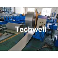 Hydraulic Decoiler / Uncoiler Machine With 0-15m/Min Uncoiling Speed , Coil Width 1500mm Manufactures