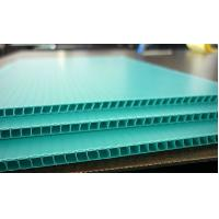 Polypropylene / Polyethylene Corflute Board Correx Plastic Sheets For Greenhouse Manufactures