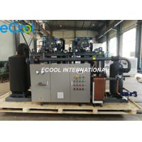 China PLC Automatic Control Refrigeration Equipment  Low Temperature Screw compressor Parallel Unit on sale