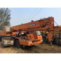 25 Ton NK250E KATO Truck Crane from Japan , Crane in Used Condition Manufactures