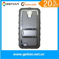 Dust Proof Cell Phone Protective Cases For Samsung Galaxy s4 Case With Stand Manufactures