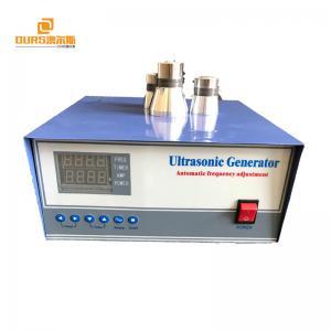Laboratory Ultrasonic Cleaner Generator , 1000W Ultrasonic Signal Generator Manufactures