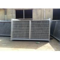 Environmental Temporary Site Fence Panels / Chain Link Fence Construction Manufactures