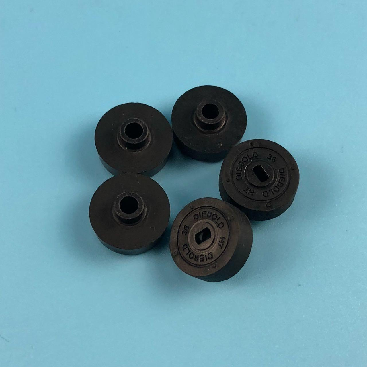 Diebold Opteva Parts Plastic ATM Machine Components CO Approved Stripper Wheel 49016968000F 49-016968-000F Manufactures