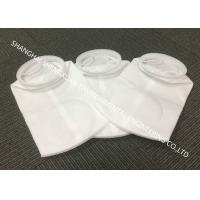 China Oil Filtration Micron Filter Bags , Durable Liquid Filter Bag With Plastic Ring on sale