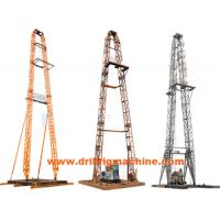 China Light Weight Drilling Rig Mast  , Oil Drilling Tower With 320KN Max Dead Load on sale