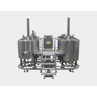 7 BBL Micro Brewing Equipment , Mash Lauter Tun + Kettle Whirlpool Tun , 220V / 380V Manufactures