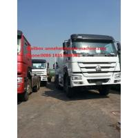 China Concrete Mixing Equipment SINOTRUK HOWO7 12CBM 336HP 6X4 LHD ZZ1257N4048W With Italy pto on sale