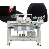 twin heads cap computerized embroidery machine Manufactures