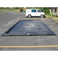 Water Reclamation System Inflatable Car Wash Mat Water Containment Inflatable Wash Pads Manufactures