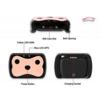 Sim Card Pet Gps Tracker , GPS Tracking Collar Low Battery Alarm With Software Manufactures